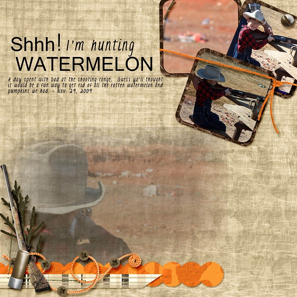 Hunting Watermelon
