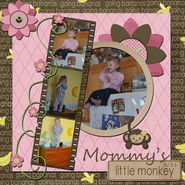 Mommy's Little Monkey