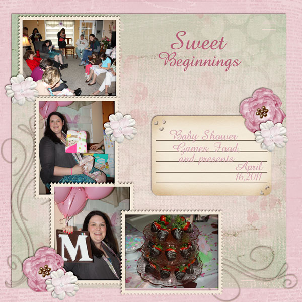 my sister's baby shower