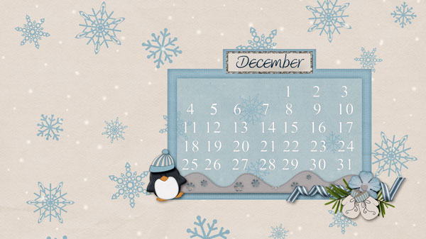 desktop for December