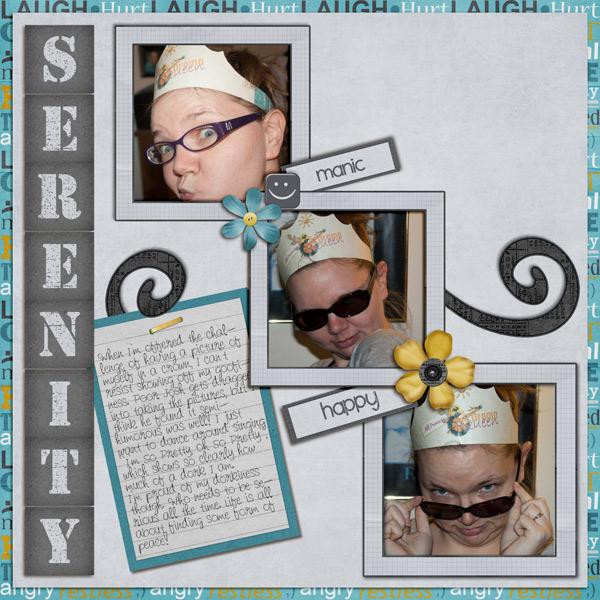 Finding My Serenity