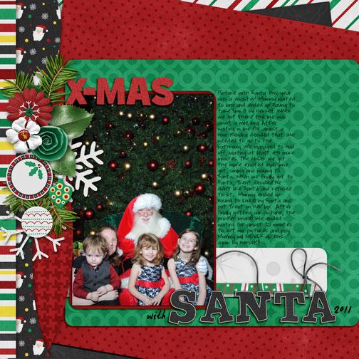 xmas with santa