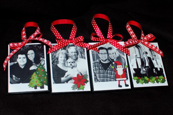 holiday happy ornaments