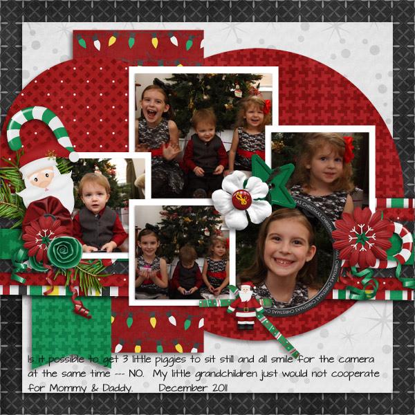 Christmas Pose 2011