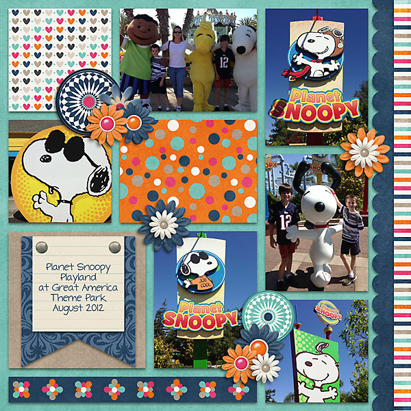 Snoopy - Great America