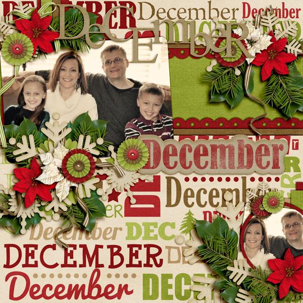 December (for 2013 calendar)
