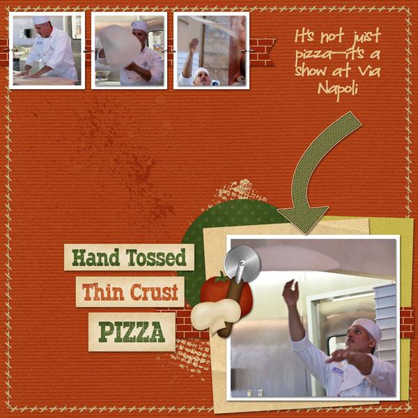 Hand Tossed