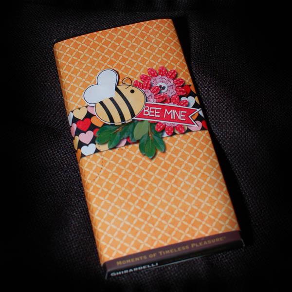 Love Bugs candybar wrap