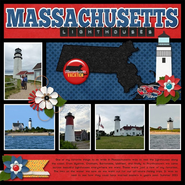 Massachusets Lighthouses