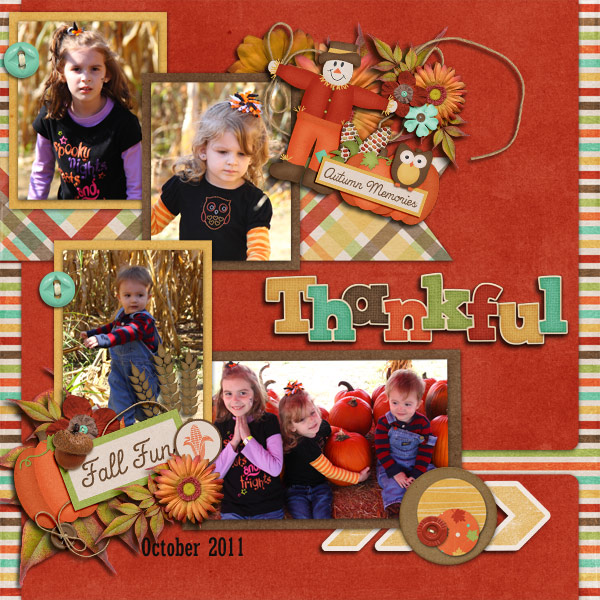 Fall Fun - Thankful