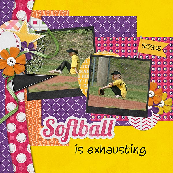 Softball is Exhausting