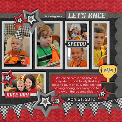 Let's Race Birthday Party