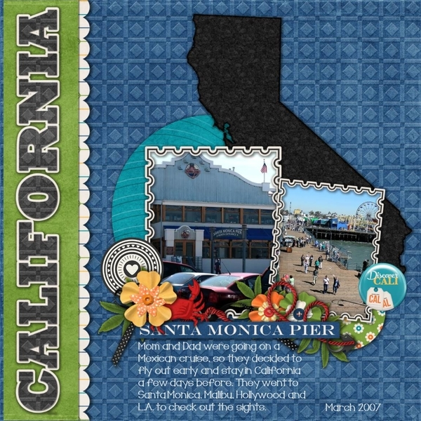 Travelogue - California