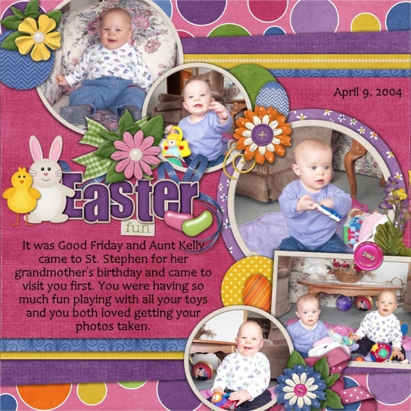 April Template Bundle - Easter Fun