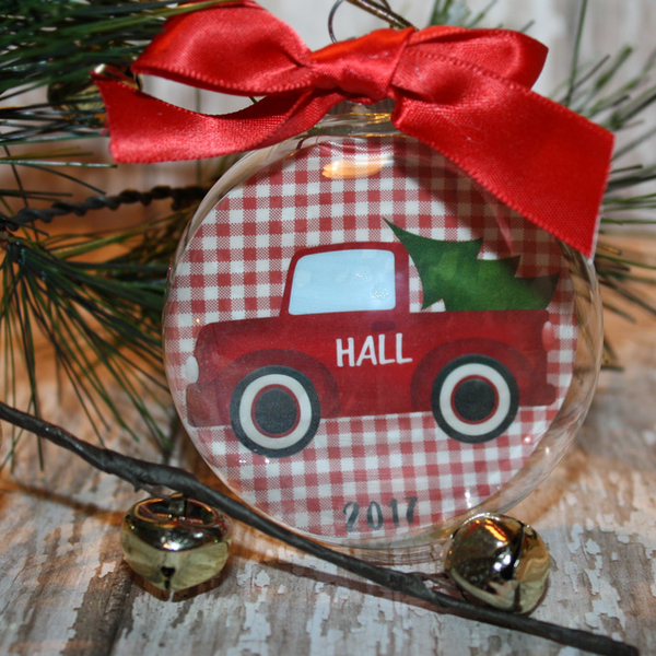 Christmas floating ornament