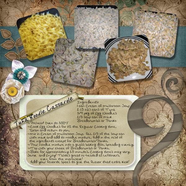 Tuna Noodle Cassarole