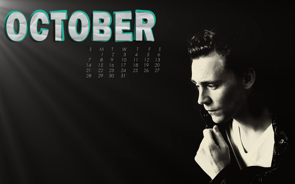 October 2012 Wallpaper