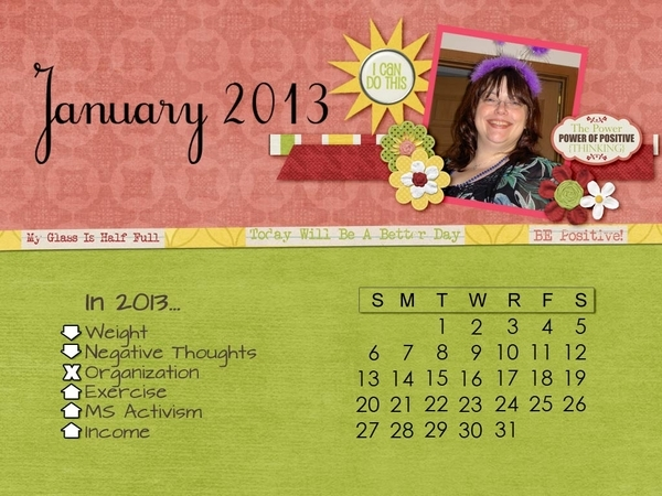 January Desktop