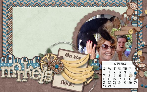 Monkeys on the Boat!