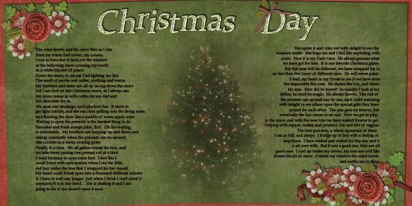 Christmas Day Poem