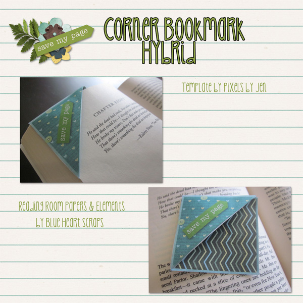 Corner Bookmark Hyrbid