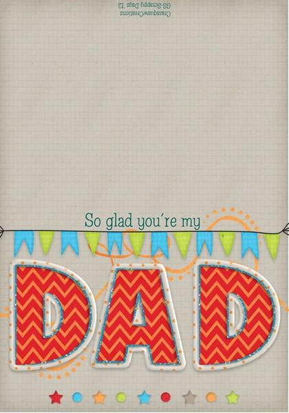 DAD card 5x7