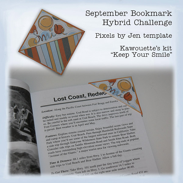 Smile Hybrid Bookmark