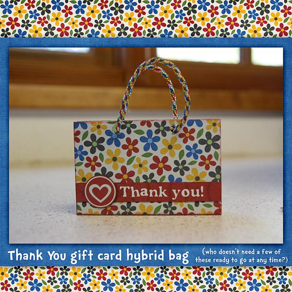 Hybrid Gift Card Bag
