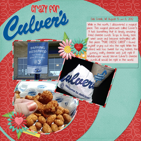 Crazy for Culver's!