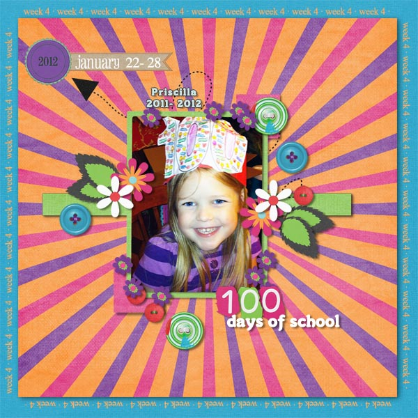 Week 4- 100 days of school