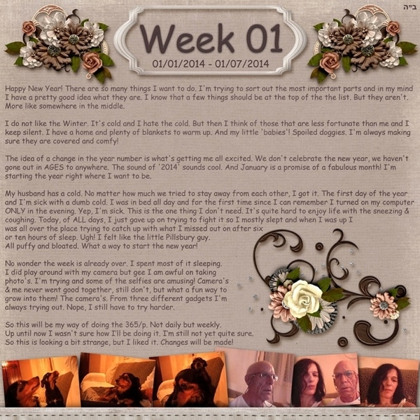 Project 365 Week 01