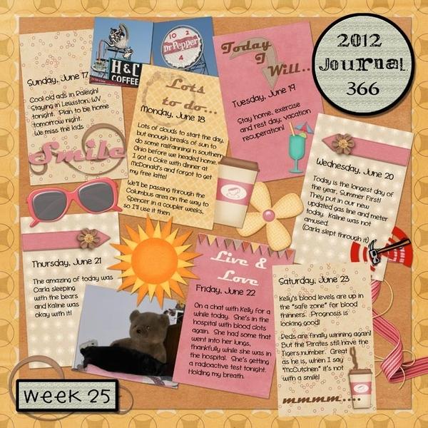 Journal 366, Week 25