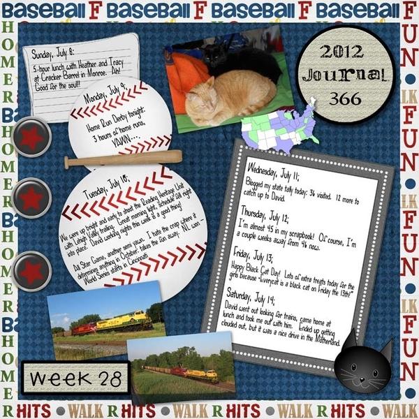Journal 366, Week 28