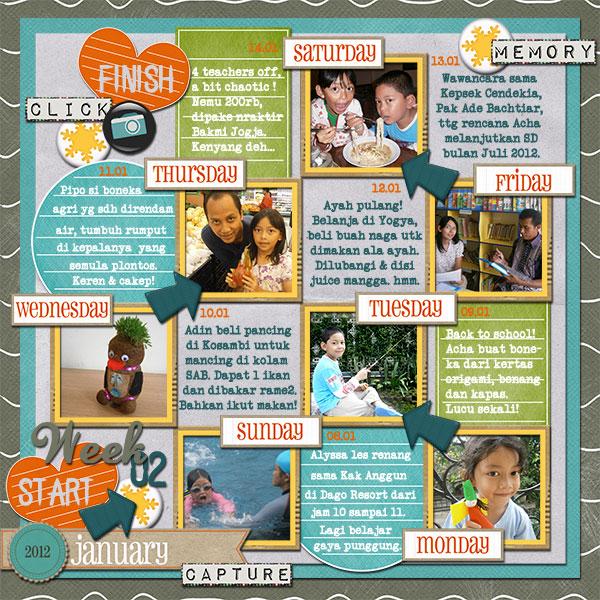 Nadia_Week 2 - January 2012