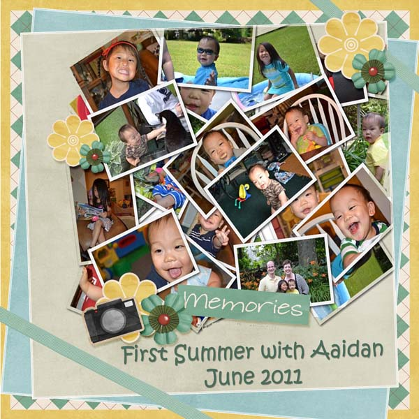 First Summer with Aaidan