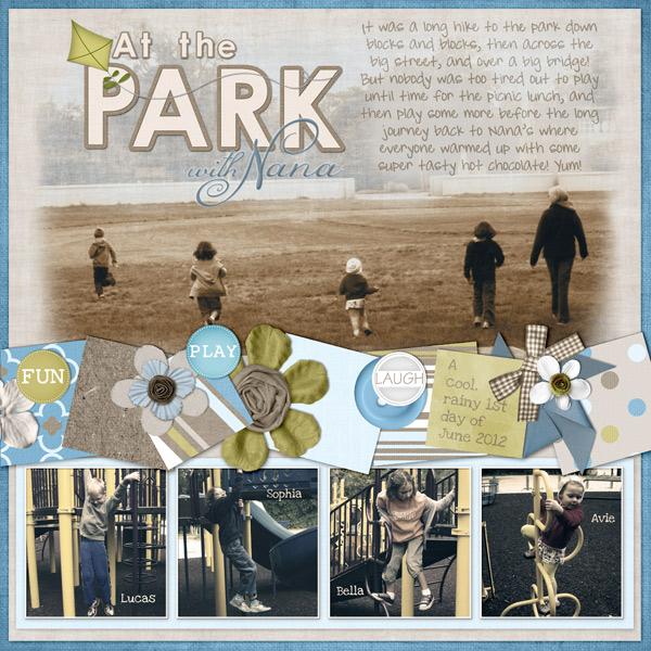 At the Park with Nana