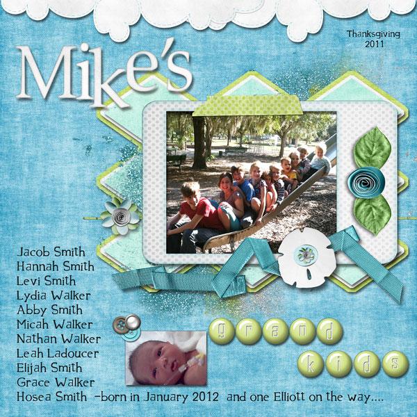 Mike's Grandkids