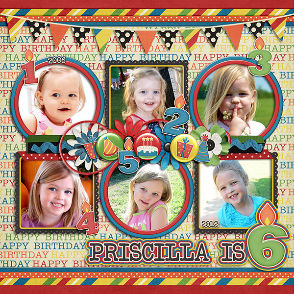 Priscilla is Six!