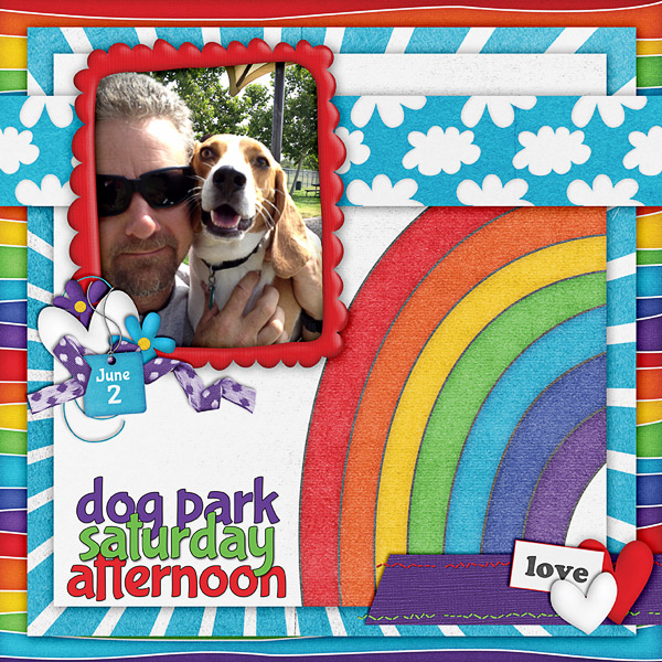 Dog Park Afternoon