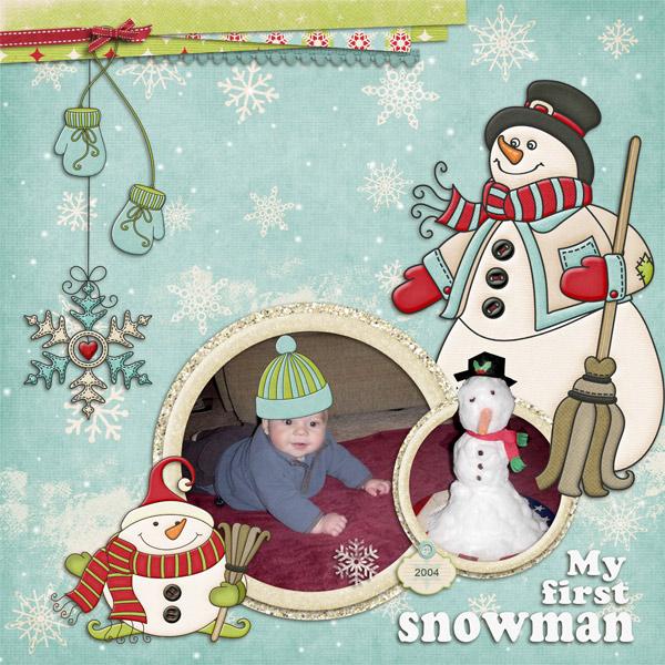 Ben's first Snowman