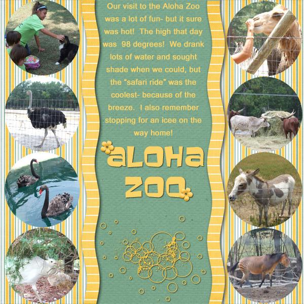 Aloha Zoo Day