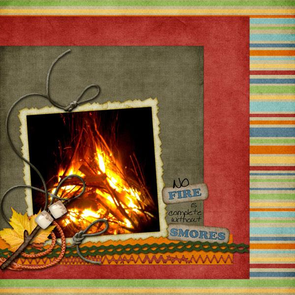 No fire...
