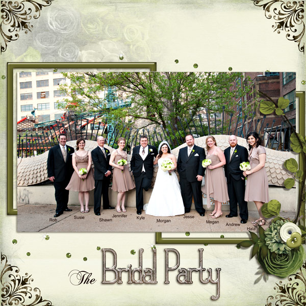 SS- Bridal Party