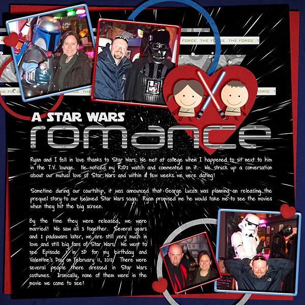 A Star Wars Romance