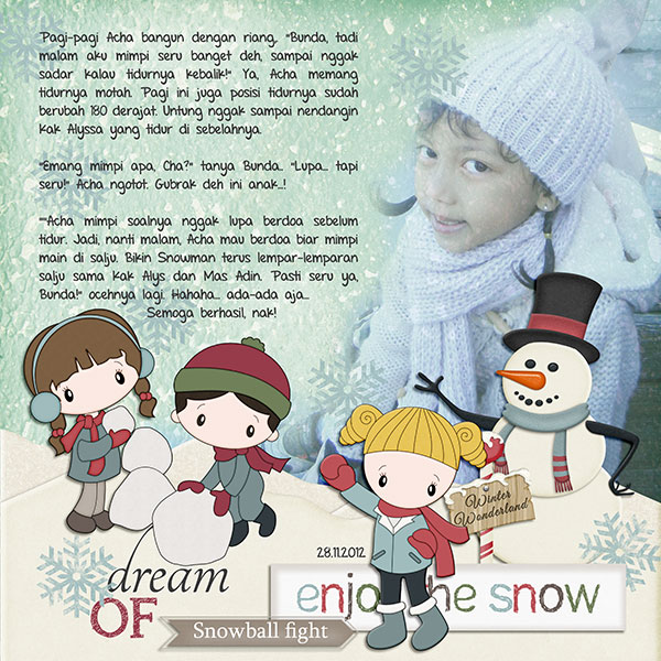 Dream of Snowball Fight