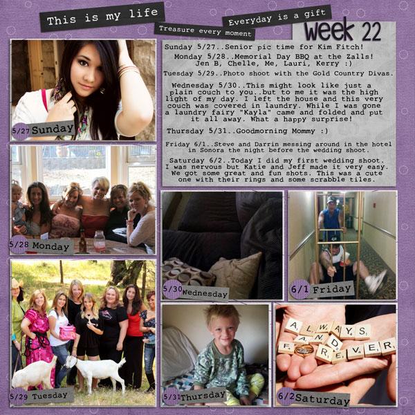 Week 22, 2012