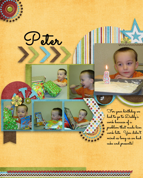 Peter 4th birthday party