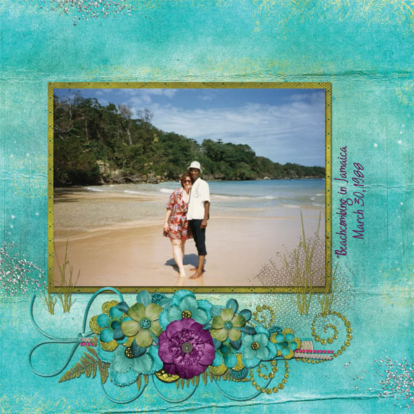 Beachcombing in Jamaica