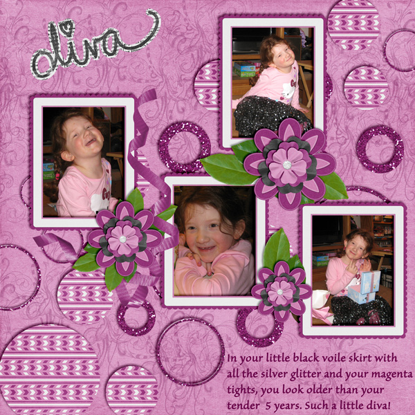 Brush Challenge Sept  (Little Diva)