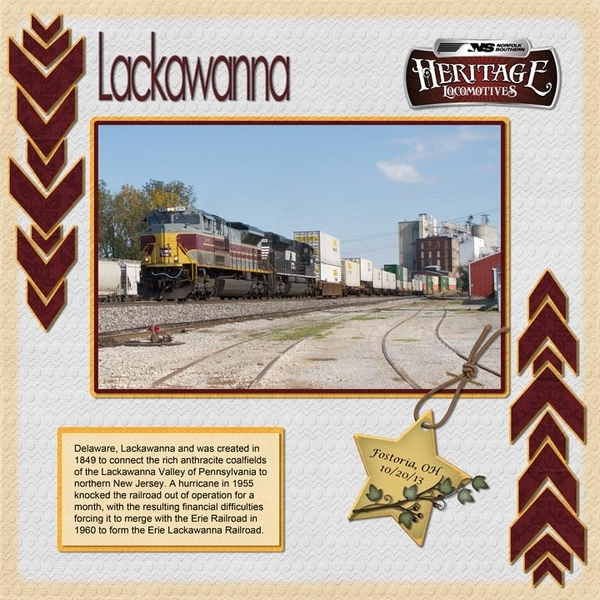Lackawanna Heritage Unit